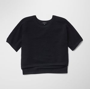 Babaton Donald Cropped Sweater Black Small